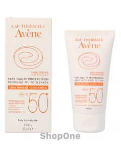 Sun Care Mineral Cream SPF50+ 50 ml fra Avene