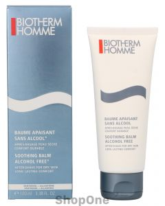 Homme Soothing Balm Alcohol Free 100 ml fra Biotherm