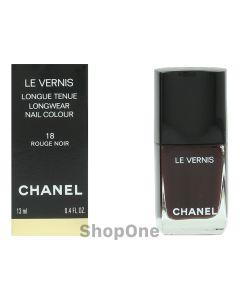 Chanel Le Vernis Longwear Nail Colour 13 ml | #18 Rouge Noir