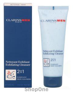 Men 2 In 1 Exfoliating Cleanser 125 ml fra Clarins