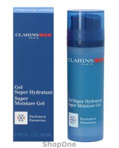 Men Super Moisture Gel Freshness 50 ml fra Clarins