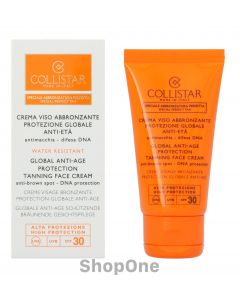 Globale Anti-Age Face Cream SPF 30 50 ml fra Collistar
