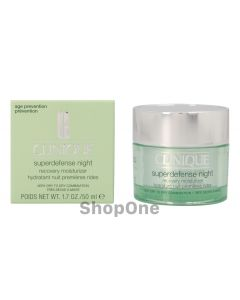 Superdefense Night Recovery Moisturizer 50 ml fra Clinique
