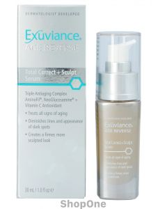 Age Reverse Total Correct + Sculpt Serum 30 ml fra Exuviance