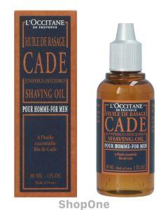 Cade For Men Shaving Oil 30 ml fra L'Occitane