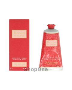 Rose Et Reines Hand &Nail Cream 75 ml fra L'Occitane