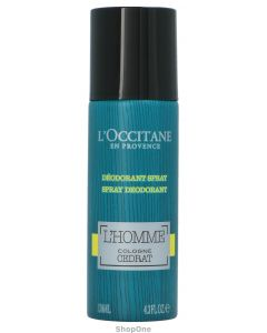 L'Homme Cologne Cedrat Deodorant Spray 130 ml fra L'Occitane