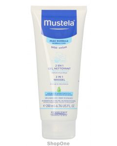 2In1 Hair And Body Wash 200 ml fra Mustela