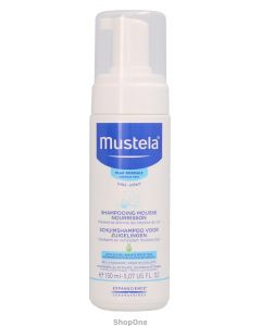 Foam Shampoo For Newborns 150 ml fra Mustela