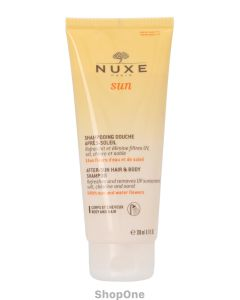 Sun After-Sun Hair & Body Shampoo 200 ml fra Nuxe