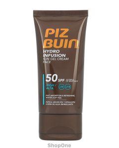Piz Buin Hydro Infusion Sun Gel Cream Face SPF50 50 ml