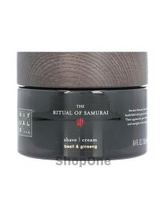 Samurai Shave Cream 250 ml fra Rituals