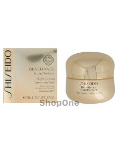 Benefiance Nutriperfect Night Cream 50 ml fra Shiseido