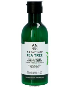 Tea Tree Skin Clearing Mattif. Toner 250 ml fra The Body Shop