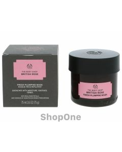 British Rose Fresh Plumping Mask 75 ml fra The Body Shop