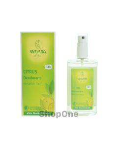 Citrus Deodorant 100 ml fra Weleda