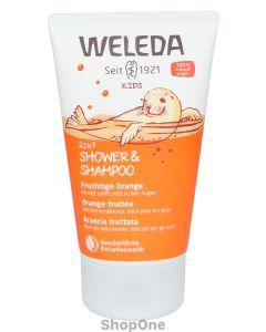 Weleda Kids 2in1 Shower & Shampoo Fruity Orange 150 ml