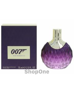007 For Women III Edp Spray 75 ml fra James Bond