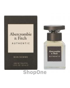 Authentic Men Edt Spray 30 ml fra Abercrombie & Fitch