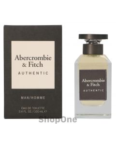 Authentic Men Edt Spray 100 ml fra Abercrombie & Fitch