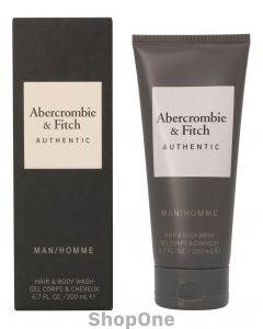 Authentic Men Hair&Body Wash 200 ml fra Abercrombie & Fitch