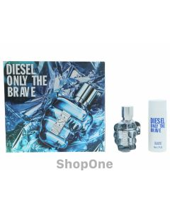 Only The Brave Pour Homme Giftset 85 ml fra Diesel
