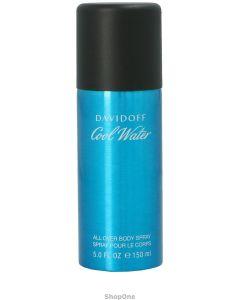 Cool Water Man Body Spray 150 ml fra Davidoff