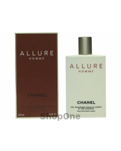 Allure Homme Hair And Body Wash 200 ml fra Chanel
