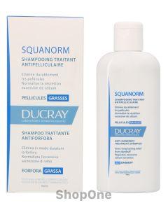 Squanorm Anti-Dandruff Treatment Shampoo 200 ml fra Ducray