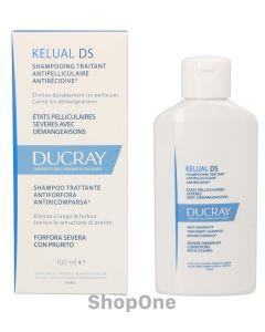 Kelual DS Anti-Dandruff Treatment Shampoo 100 ml fra Ducray