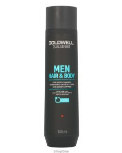 Dual Senses Men Hair&Body Shampoo 300 ml fra Goldwell