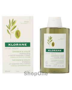 Shampoo With Essential Olive Extract 200 ml fra Klorane