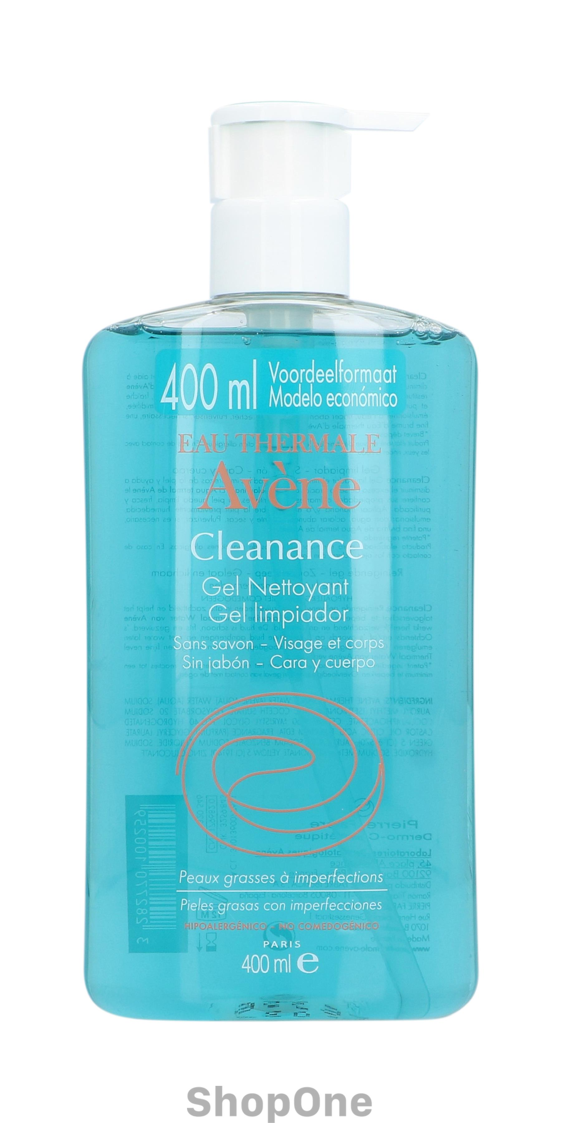 Image of   Cleanance Cleansing Gel 400 ml fra Avene