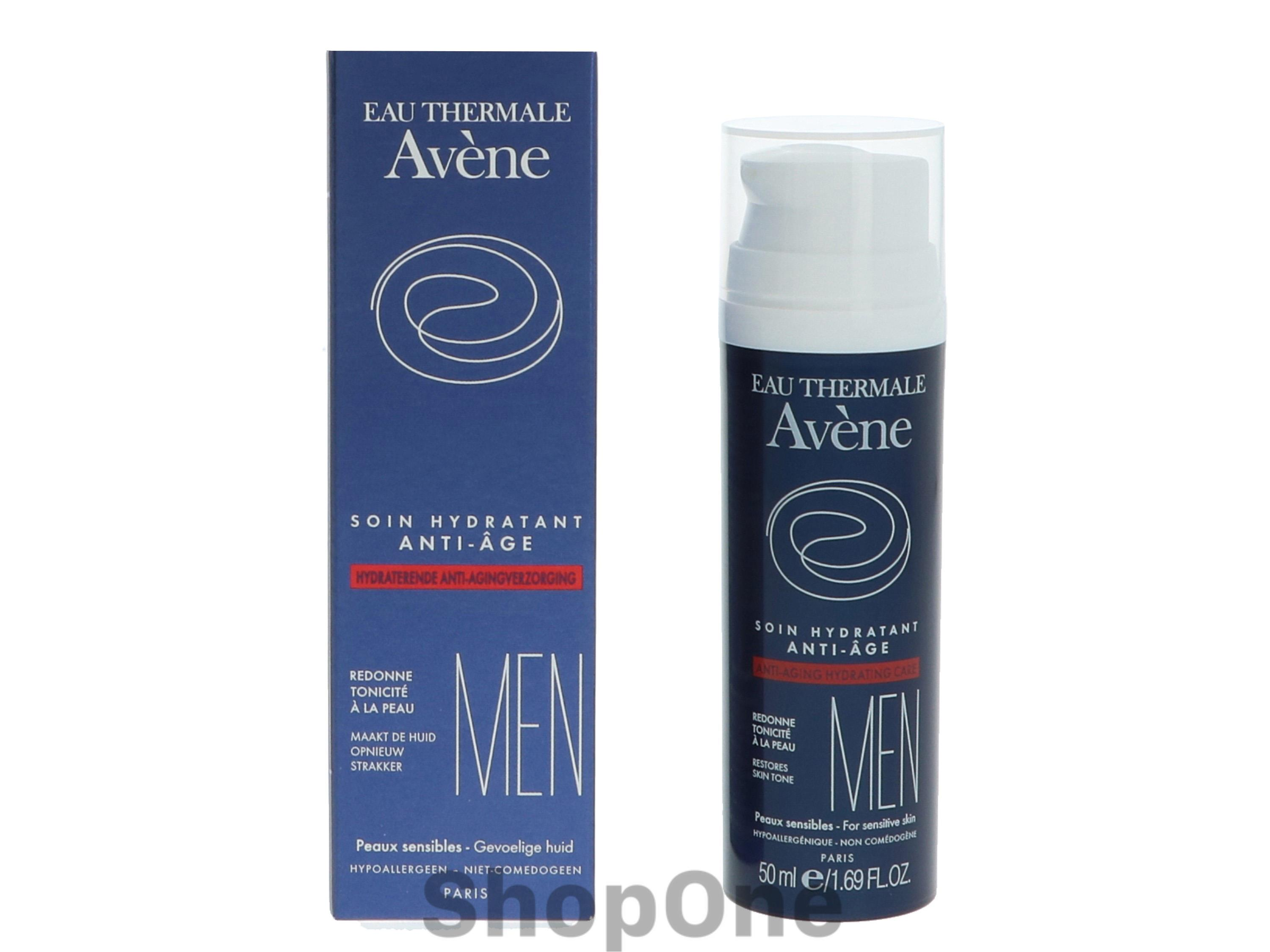 Image of   Men Anti-Aging Hydrating Care 50 ml fra Avene