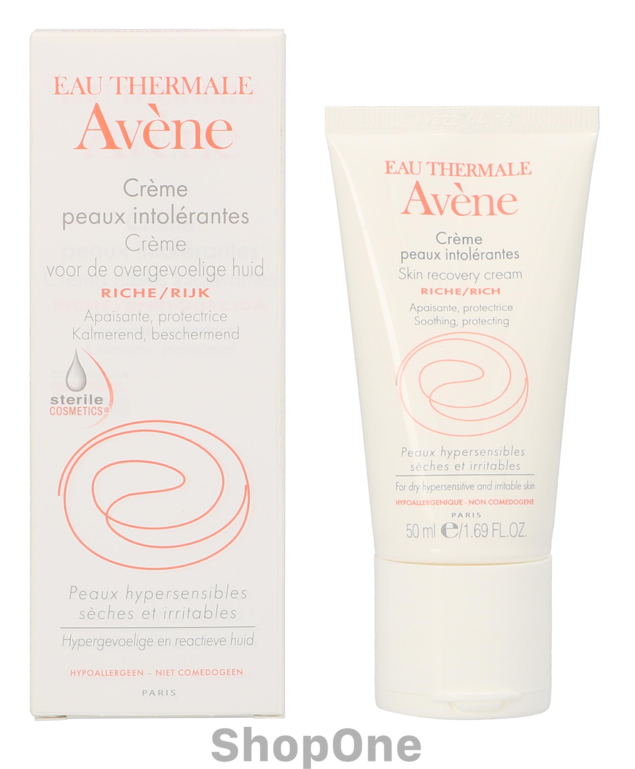 Image of   Skin Recovery Cream Rich 50 ml fra Avene