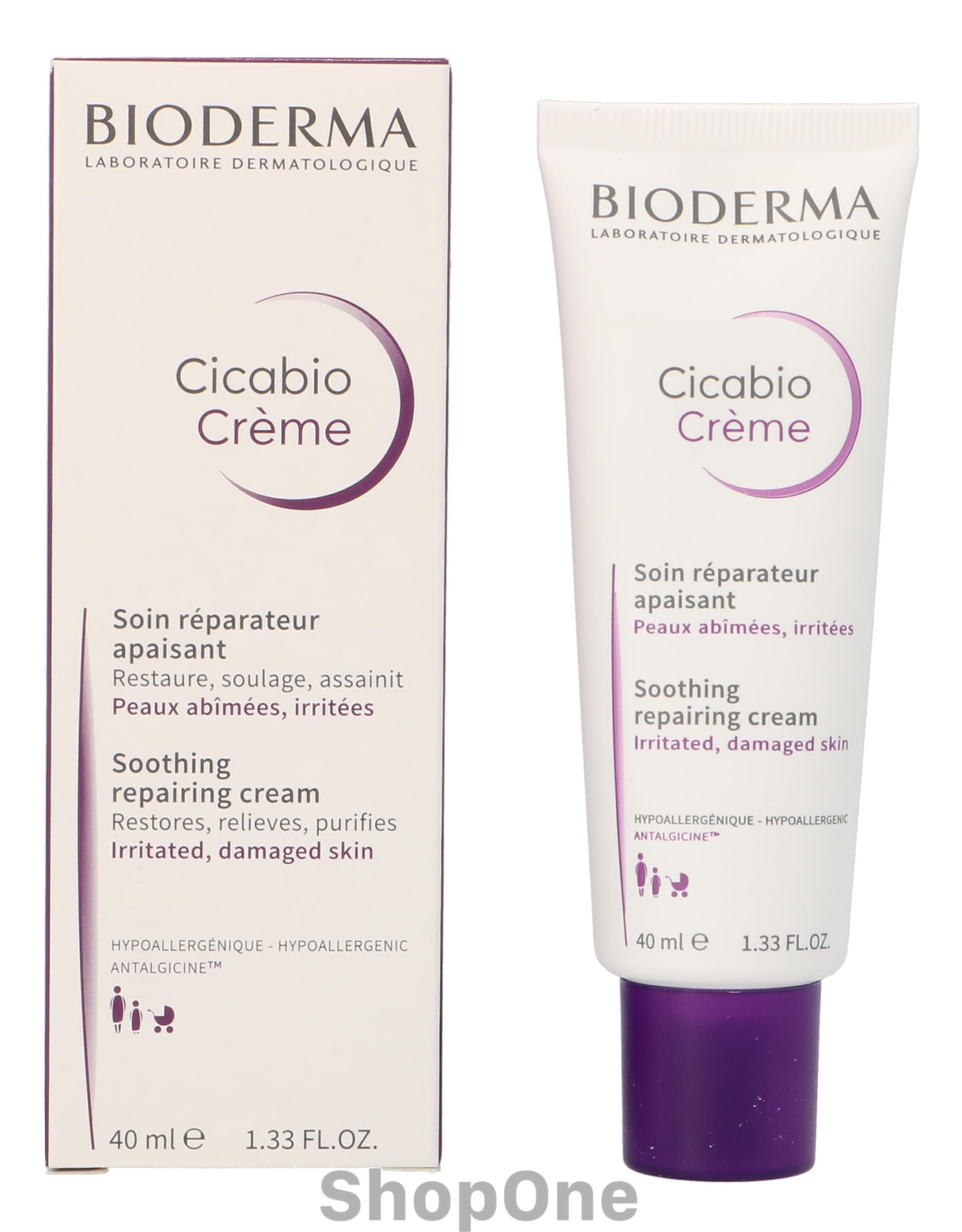 Image of   Cicabio Creme 40 ml fra Bioderma