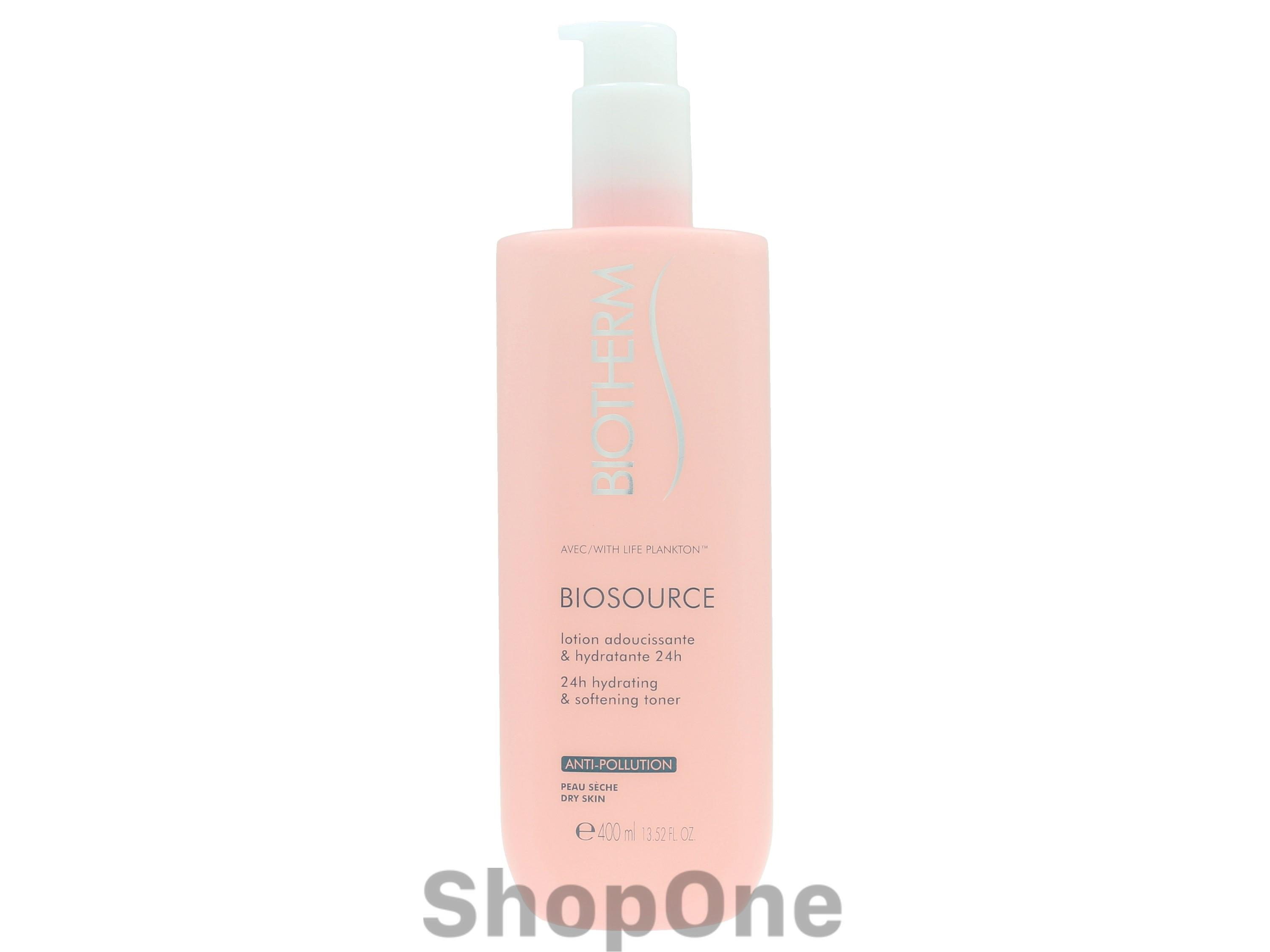 Image of   Biosource 24H Hydrating Softening Toner 400 ml fra Biotherm