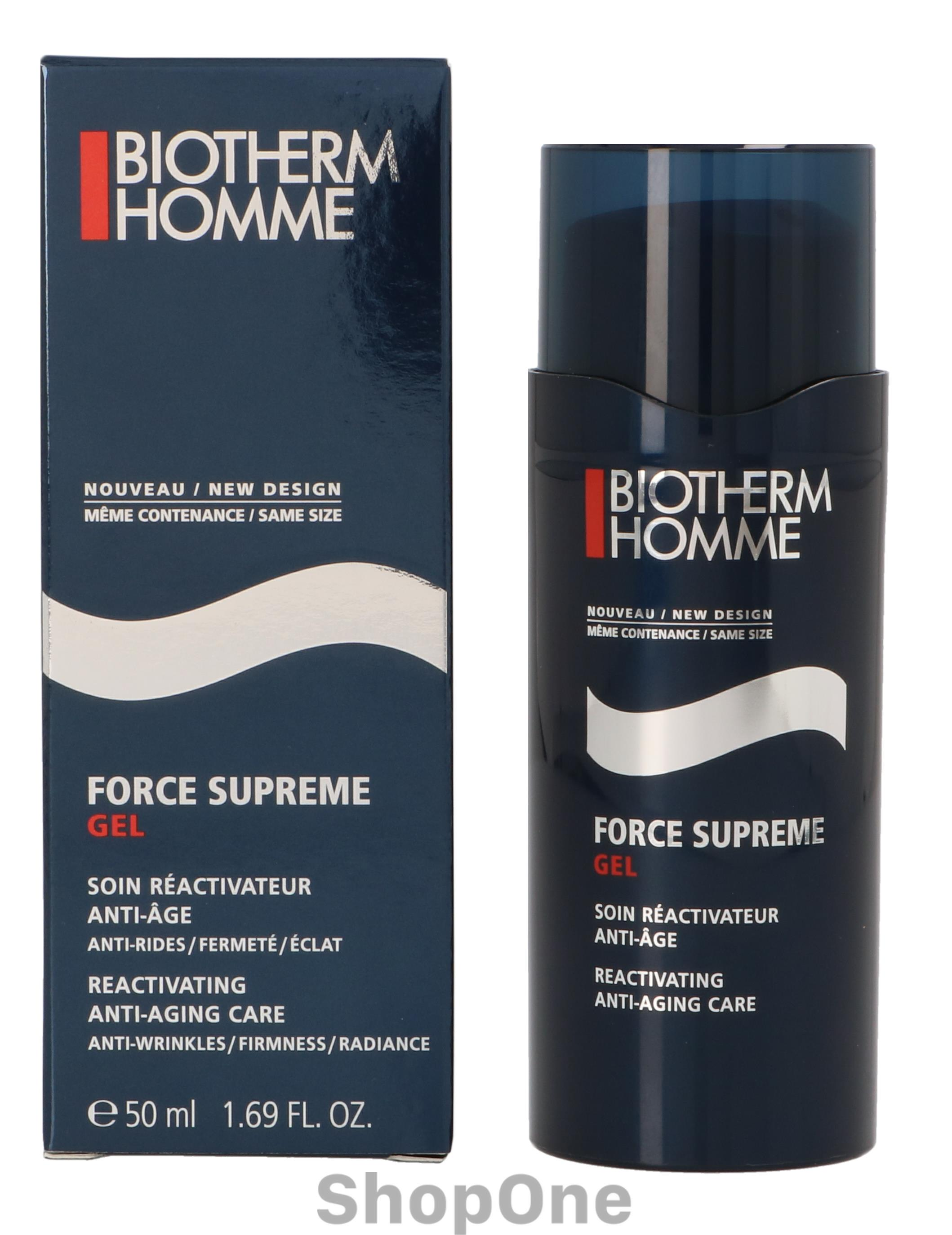 Image of   Homme Force Supreme Gel 50 ml fra Biotherm