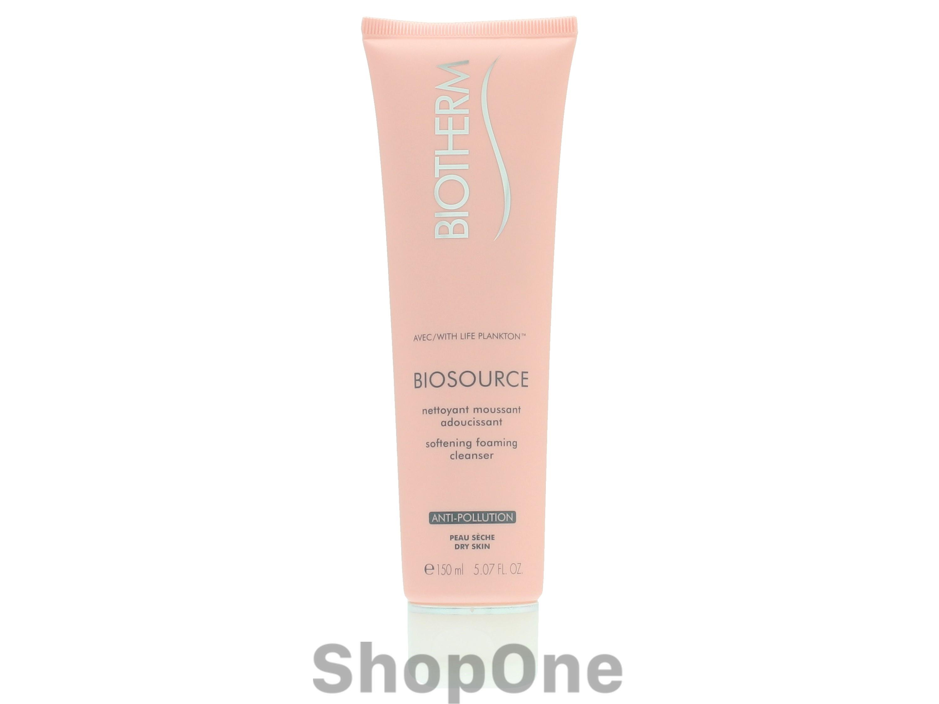 Image of   Biosource Softening Foaming Cleanser 150 ml fra Biotherm