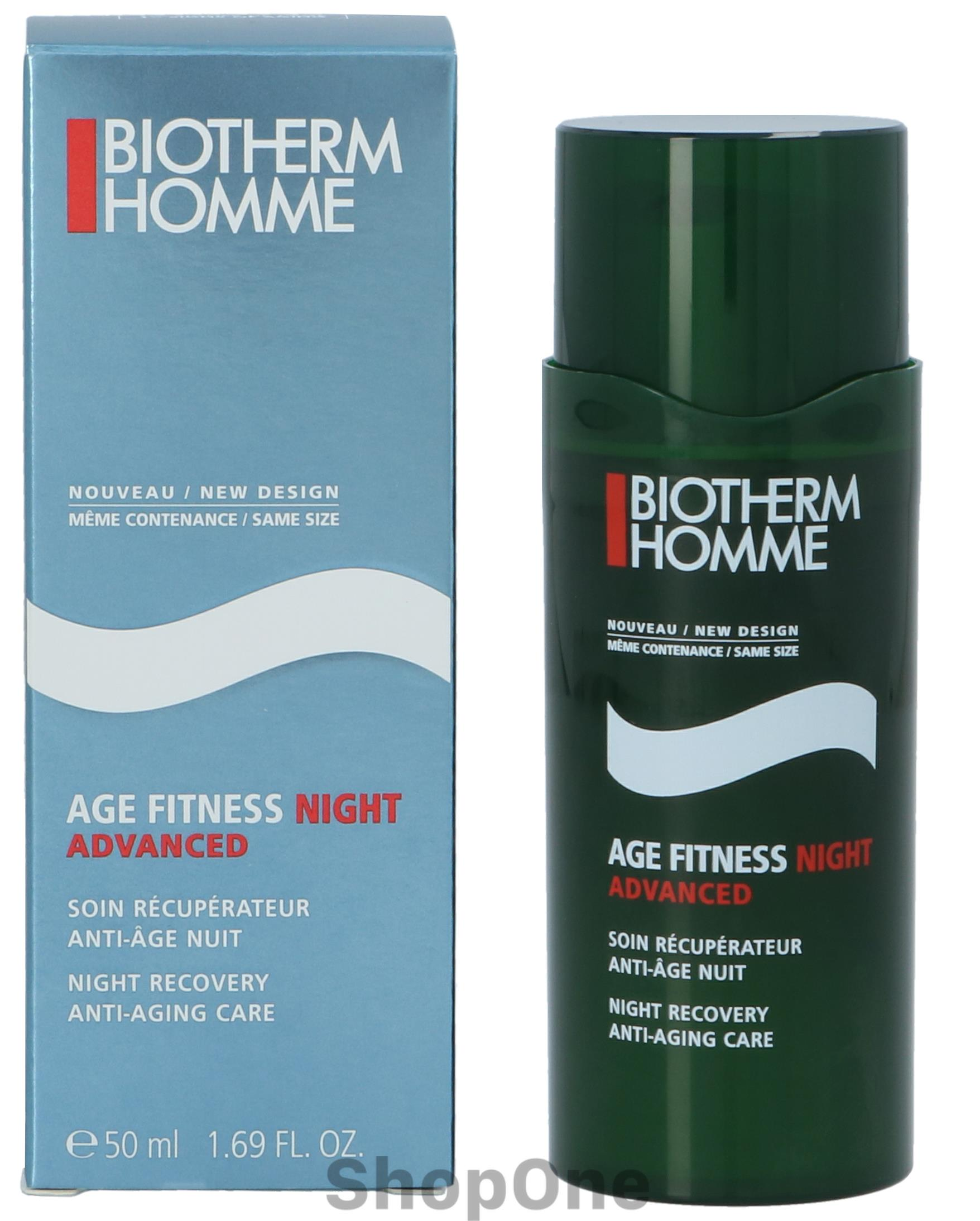 Homme Age Fitness Night Advanced 50 ml fra Biotherm - Gezicht Biotherm Homme Age Fitness Night Advanced 50 ml. Fra Biotherm.