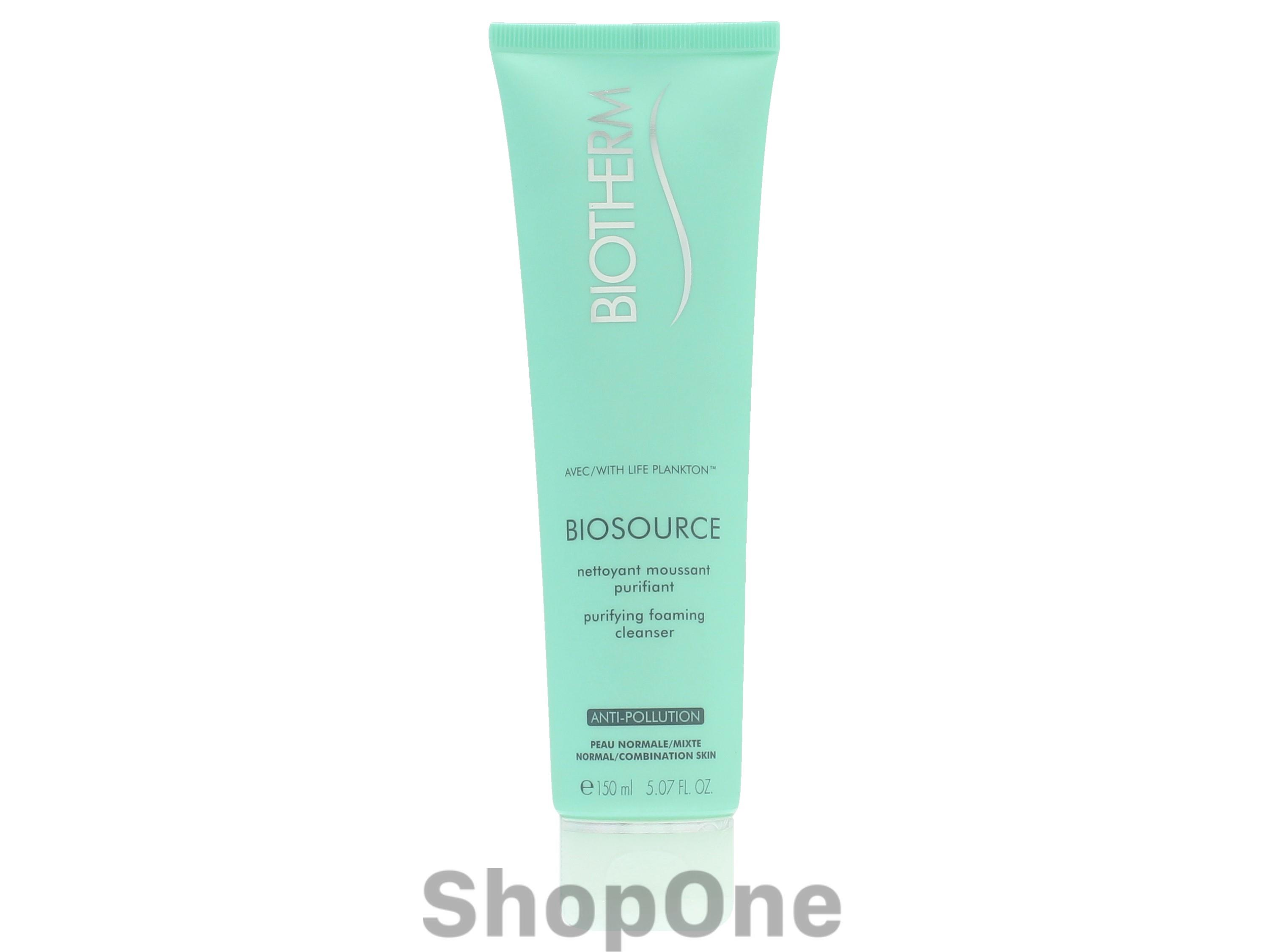 Image of   Biosource Purifying Foaming Cleanser 150 ml fra Biotherm