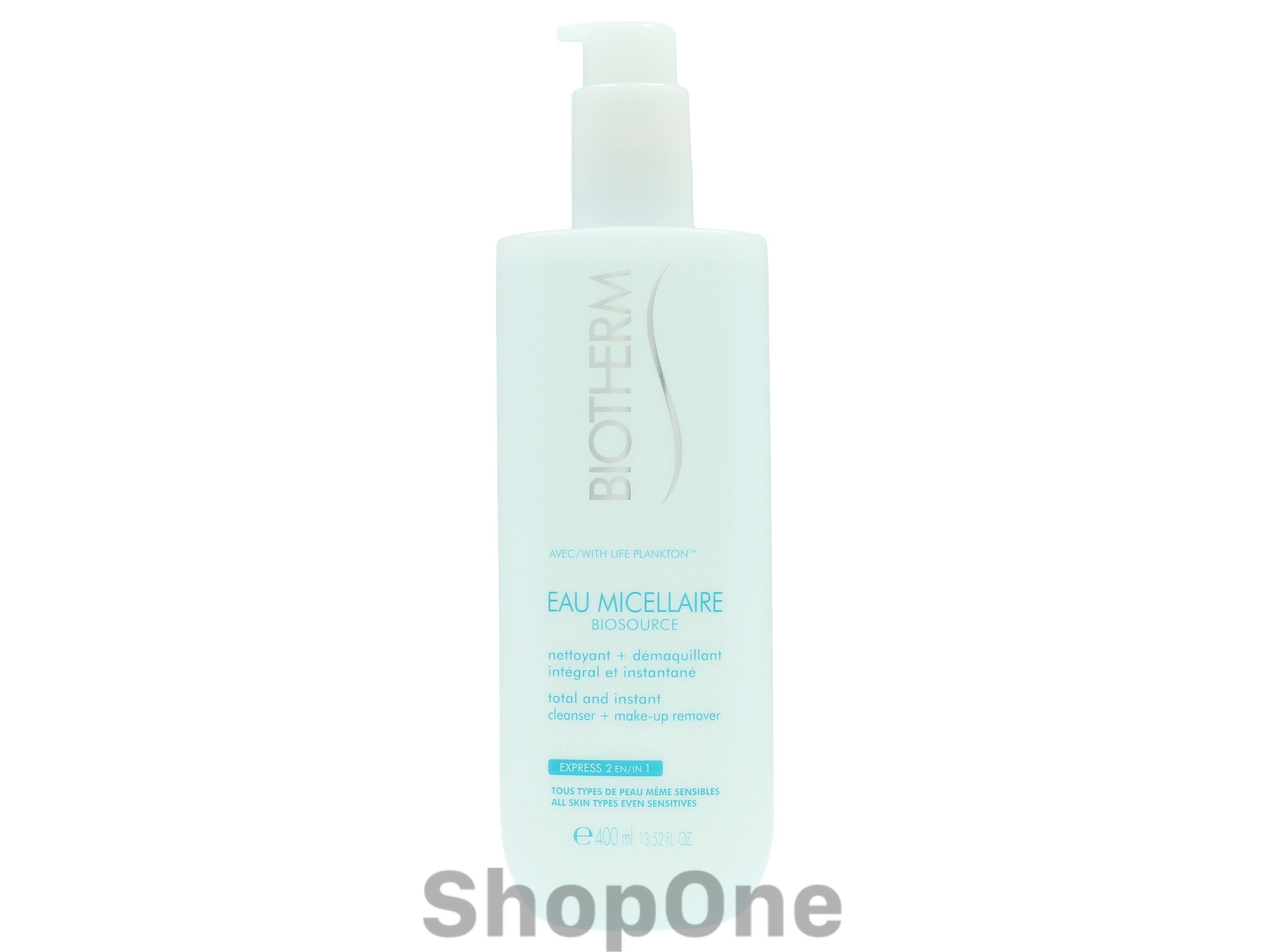 Image of   Biosource Eau Micellaire 400 ml fra Biotherm