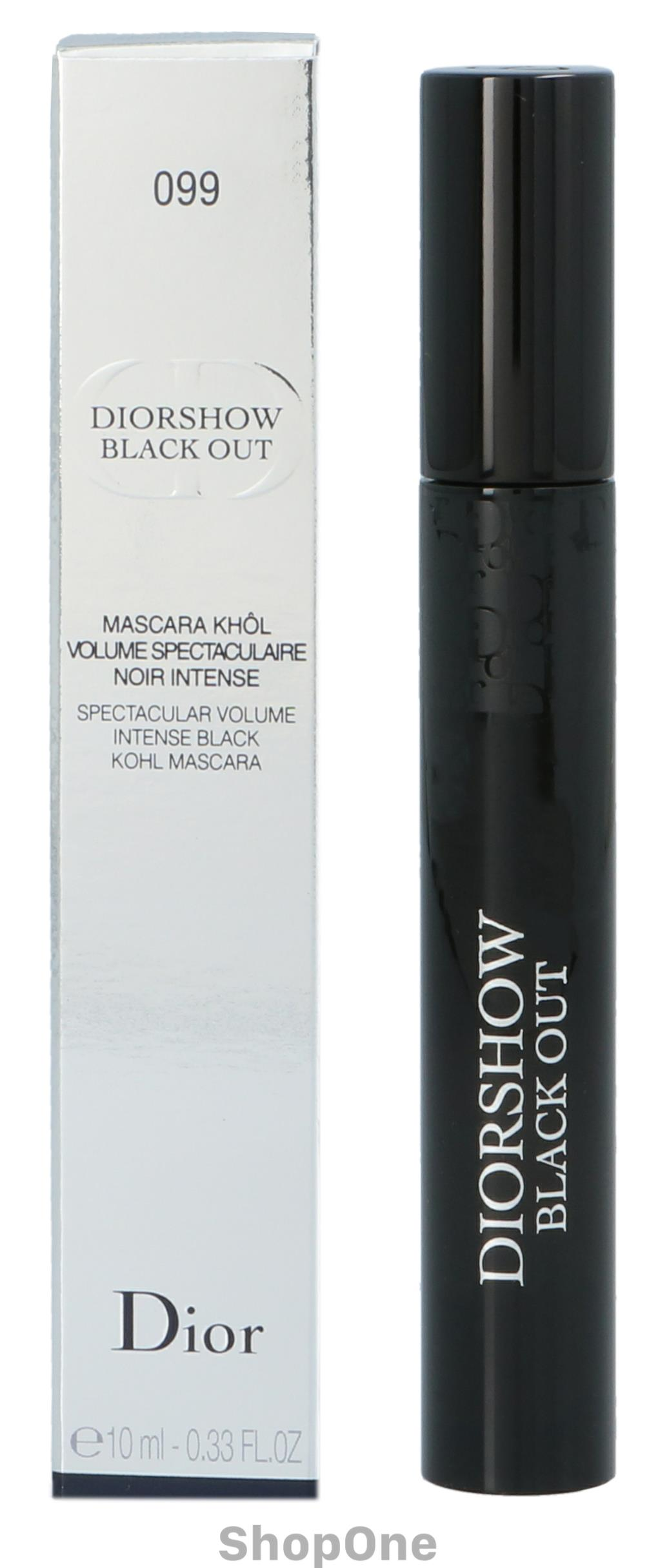 Image of   Dior Diorshow Black Out Volume Intense Mascara 10 ml fra Christian Dior
