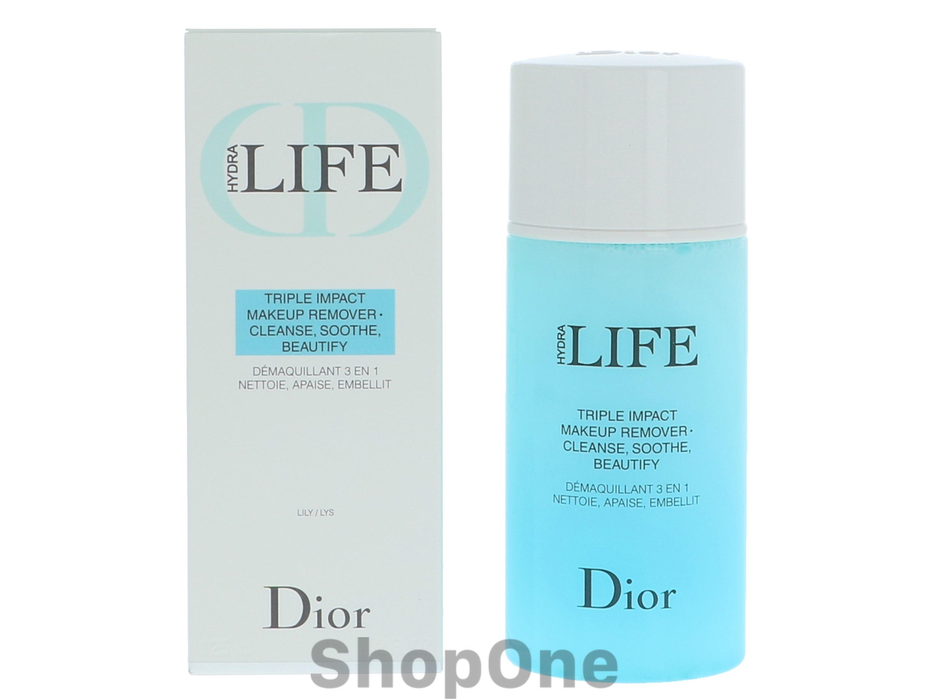 Image of   Dior Hydra Life Triple Impact Makeup Remover 125 ml fra Christian Dior