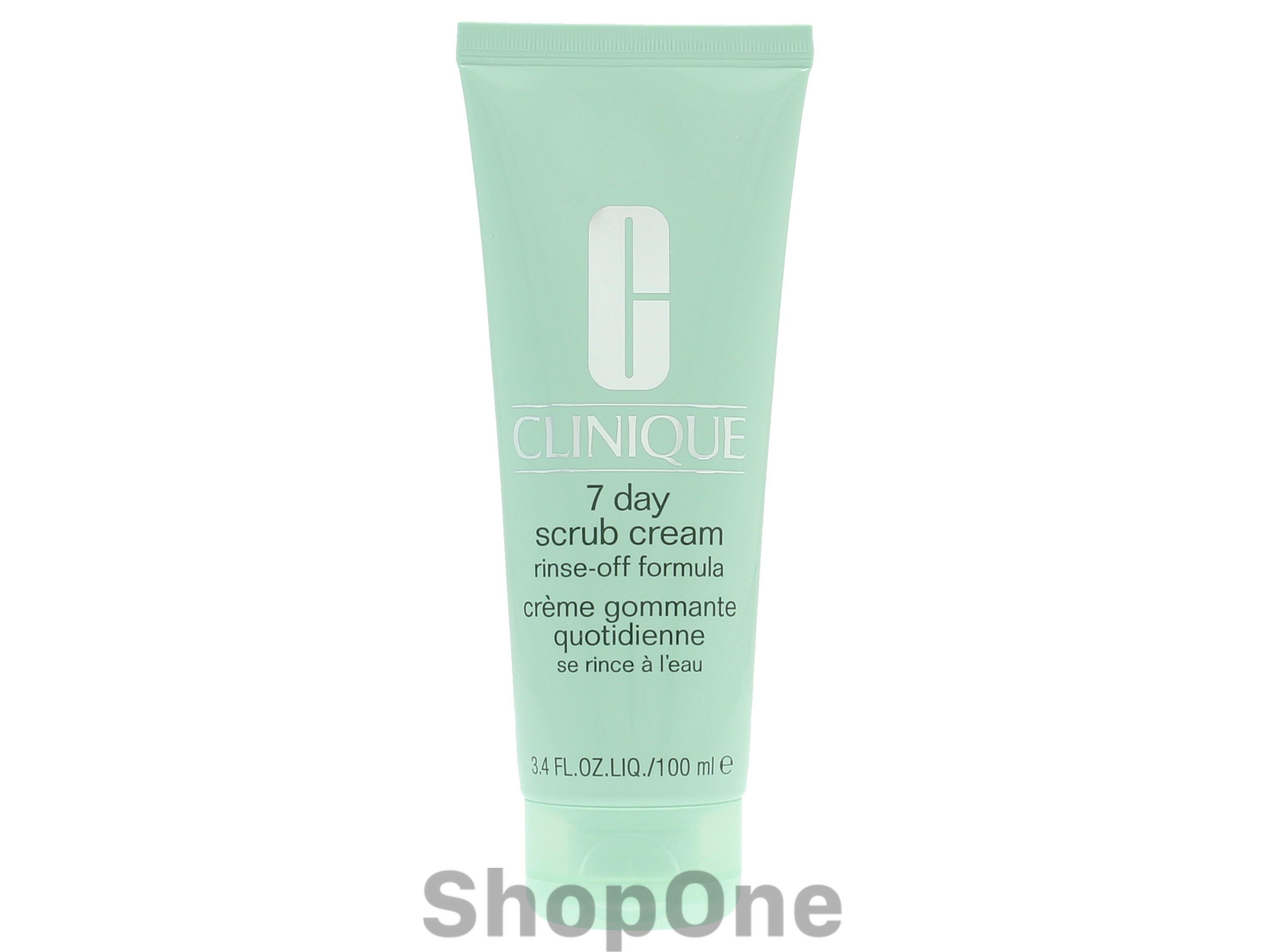 Image of   7 Day Scrub Cream Rinse-Off Formula 100 ml fra Clinique