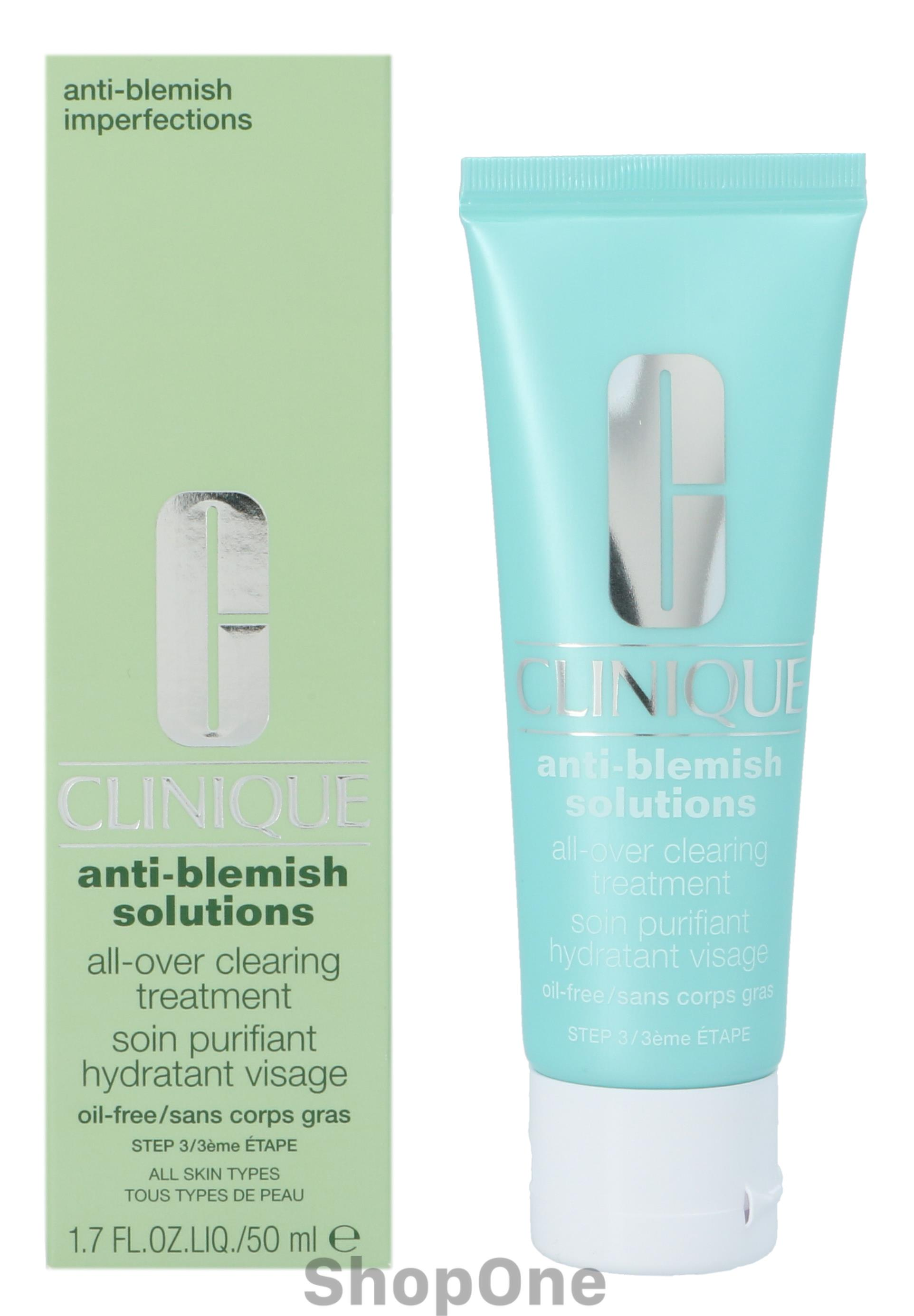 Image of   Anti-Blemish Solutions Clearing Treatment 50 ml fra Clinique