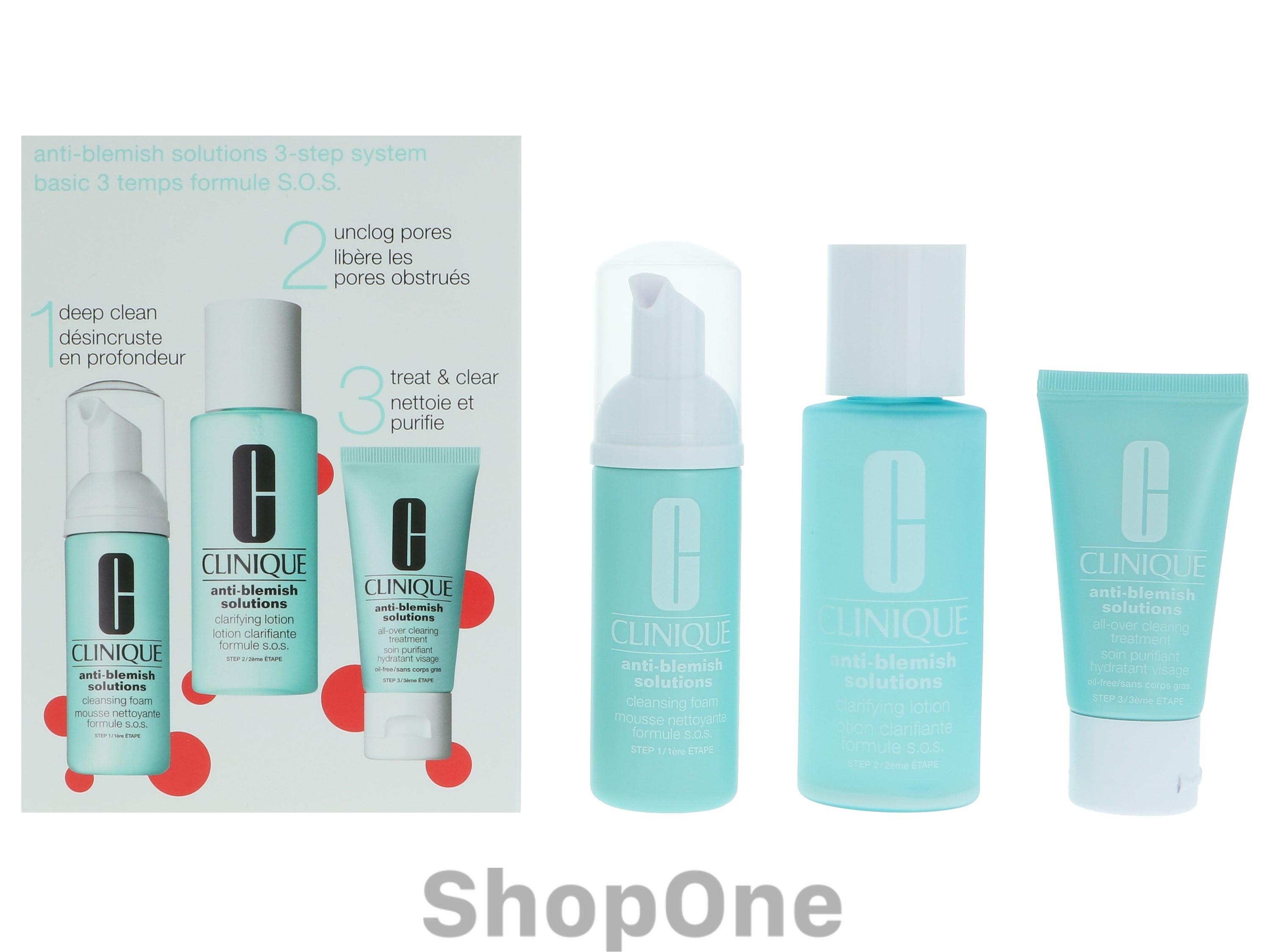 Image of   Anti Blemish Solution 3 Step System 3 stuk fra Clinique