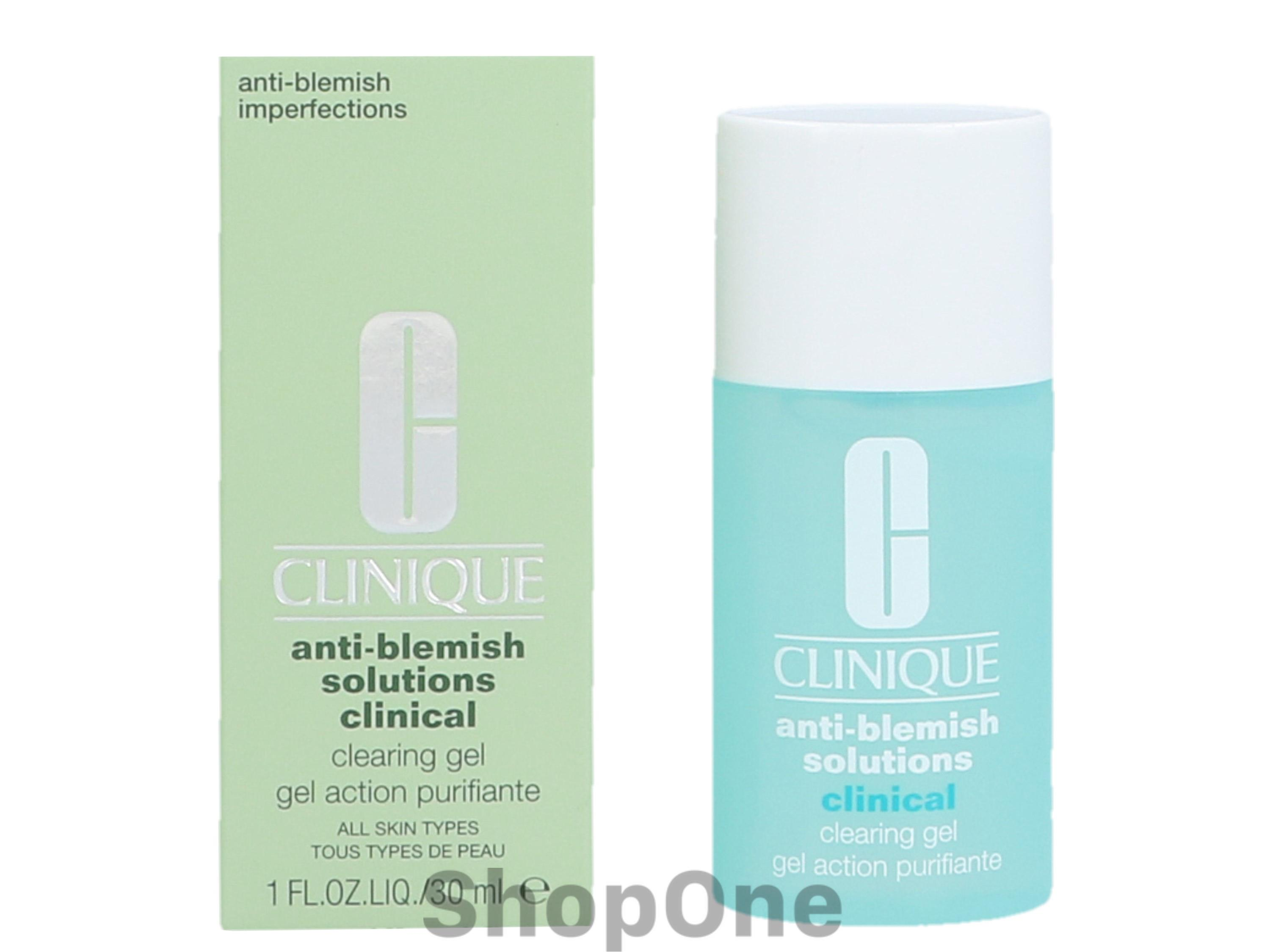 Image of   Anti-Blemish Solutions Clearing Gel 30 ml fra Clinique