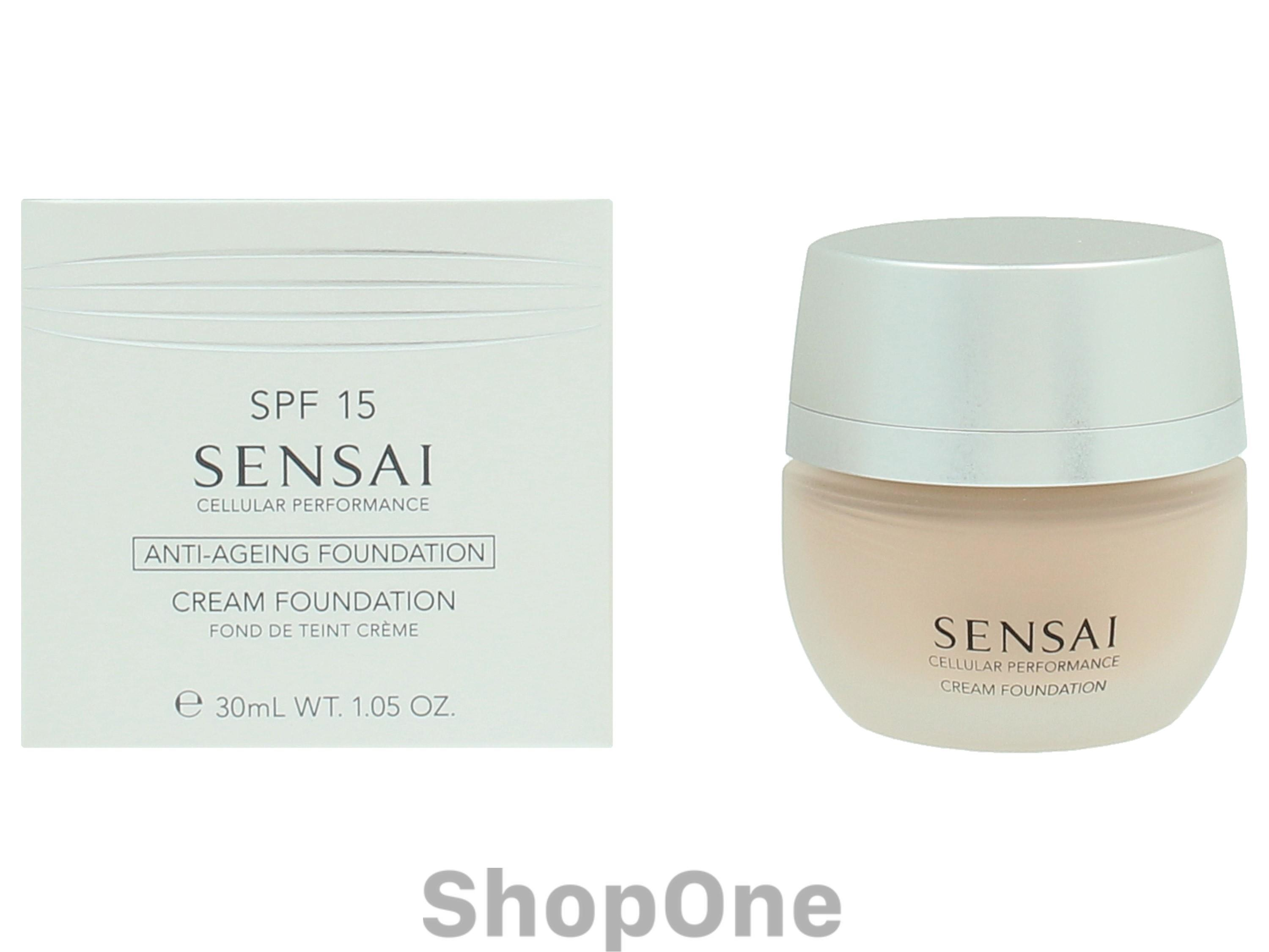 Image of   Sensai Cp Cream Foundation SPF15 30 ml fra Kanebo
