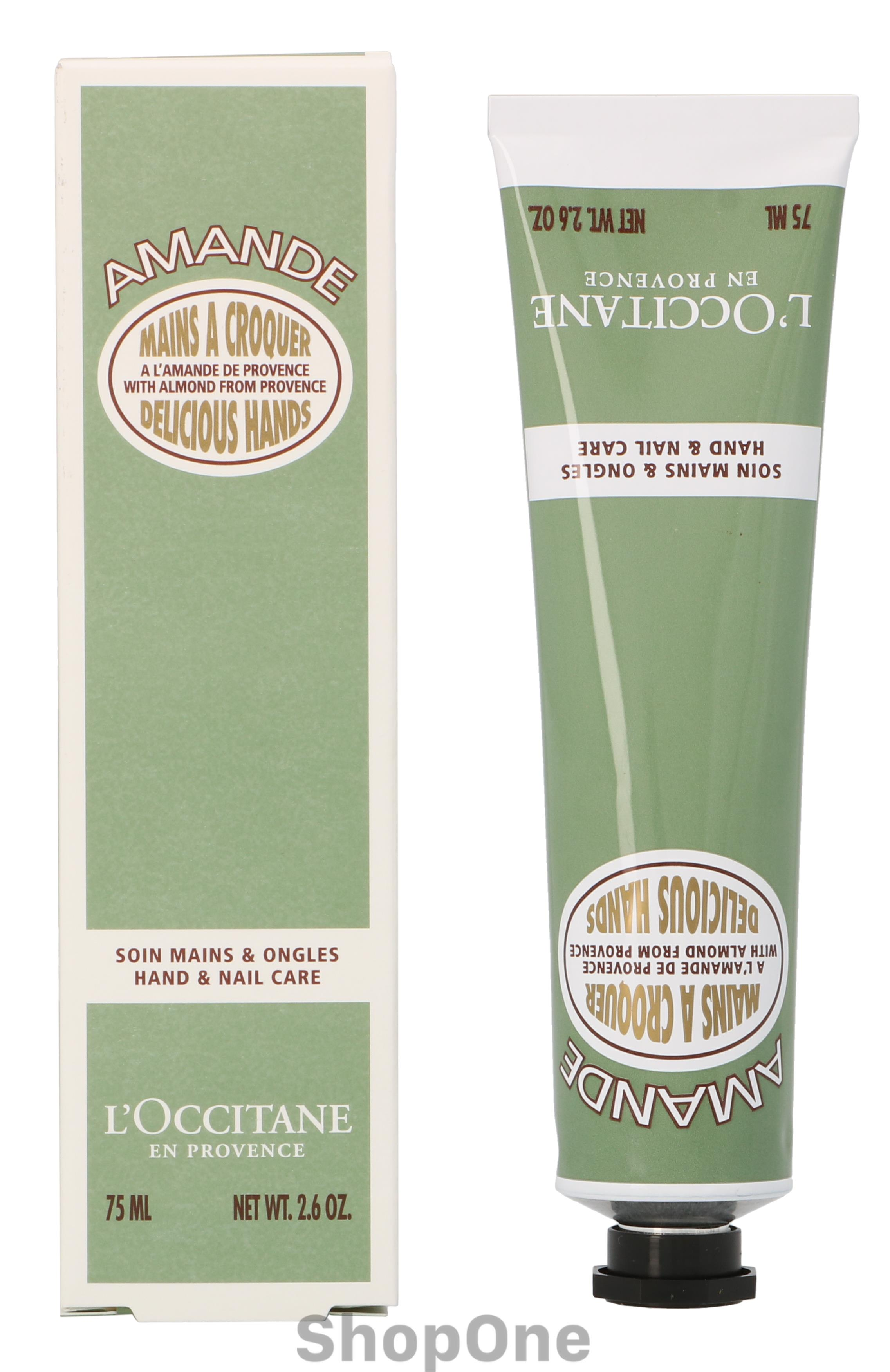 Image of   Almond Delicious Hands Cream 75 ml fra LOccitane
